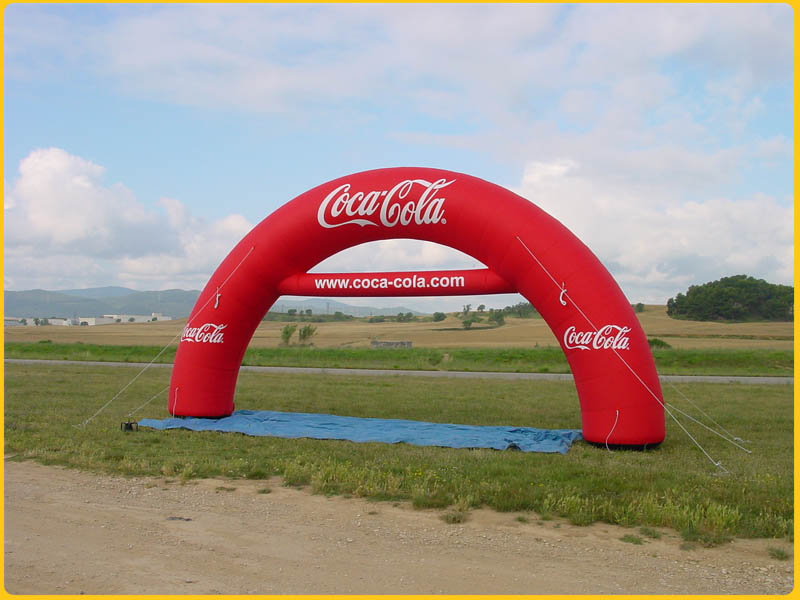 arc podio cocacola In Your Face Media Limited